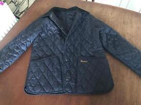 Girls Navy blue Barbour Coat