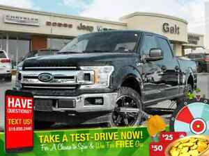2018 Ford F-150 XLT 4X4 BACK UP CAM LOW KM'S!!!!