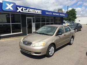 2004 Toyota Corolla CE/LOW MILAGE/ CAR-PROOF ATTACHED
