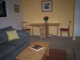 1 bed furnished ground floor flat,recently refurbished,quiet location