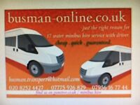 Cheaper Minibus Hire & Transfer's For Londoner's, Essex, Kent & all around the M25 areas Covered