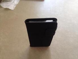 Brand new IPhone 6 Plus case dark grey faux suede