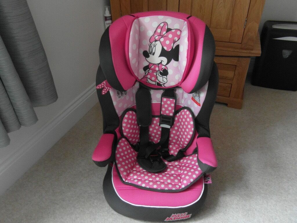 Bargain - Disney Minnie Mouse Pink Dots Imax Car Seat - Reduced | in