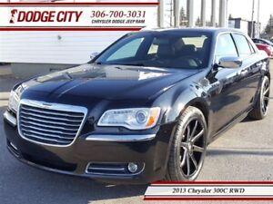 2013 Chrysler 300 C | RWD | PST PAID - Nav, Uconnect, Sunroof