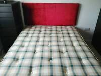 Bed and mattress double