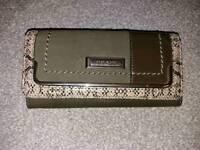 Khaki river island purse