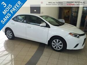 2015 Toyota Corolla BLUETOOTH, BACK UP CAM, SIEGE CHAUFFANTS*PRO