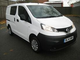 Nissan NV200 DCI Acenta 5 seater One Owner FSH 17000 Miles Crew Bus
