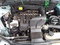 Rover 75 Diesel Engine, and clutch