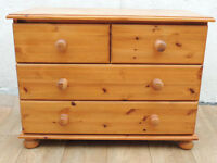 Welsh pine chest of drawers x 2 available (Delivery)