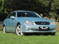 Mercedes CLK 500 coupe .Exceptional condition throughout.FSH ,HPI clear,mileage verified throughVOSA