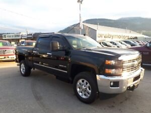 2015 Chevrolet SILVERADO 3500HD LTZ Z71 Crew Cab Shortbox Sunroo