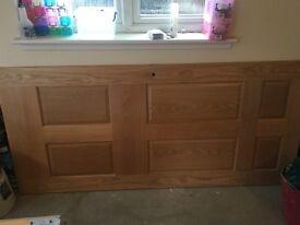 Oak door for sale.