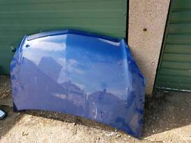 VAUXHALL ZAFIRA BONNET IN BLUE 2005 TO 2013