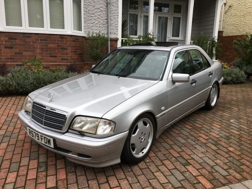 Mercedes benz c240 sport amg w202 not c36 c43 amg in for Mercedes benz c240 rims