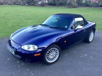 2005 Mazda MX5 1.8 in Strato Blue
