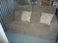 2 X 2 seater sofas in excellent condition with very little use.