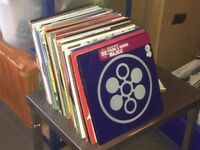"110 x 12"" Techno / Electro Vinyl Records Collection 90s- 2000's"