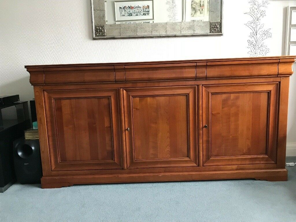 French Grange Cherry Wood Sideboard