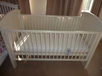 Cosatto Hogarth 3-in-1 Cot Bed - White