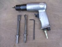 Air chisel and fittings bodyline