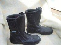 A Pair of Koden motor bike boots