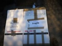 20 Used double walled removal boxes various sizes