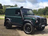 *** Land Rover defender 90 td5 swap px ***