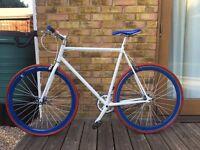 Single speed/Fixie racing city bike