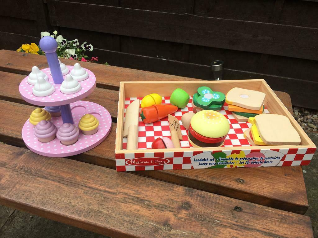 Wooden Play Food Toys Melissa Doug In York North Yorkshire Gumtree
