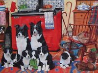 1000 PIECE JIGSAW PUZZLE MEET THE FAMILY DELLAVAIRD COLLECTION