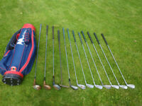 Gents Golf Clubs with bag