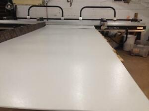All Purpose White 4 Ft Wide Flat Stock Sheet Metal