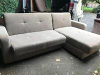 L- shape sofa with storage