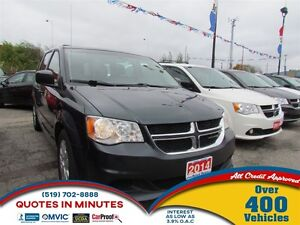 2014 Dodge Grand Caravan SE | GET PRE-APPROVED | 5SD.CA/FAST