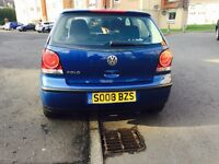 VW Volkswagen Polo **REDUCED** 1.2 NOT Vauxhall Corsa Toyota Yaris Clio Ford Fiesta