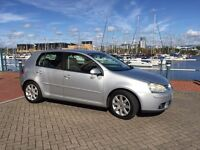 2006 VOLKSWAGEN GOLF SPORT TDI 5dr, Silver, Bluetooth & USB Audio.
