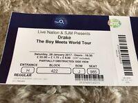 3 X Drake Tickets At O2 London