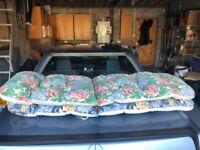 2 Sun Lounge Cushions