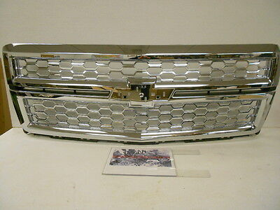 Factory OEM Genuine GM Full Chrome Mesh Accessory Radiator Grille Grill *NEW*