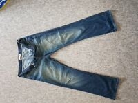Excellent condition River Island Men's 34 x 32 Bootcut jeans £10 ONO