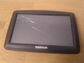 Tom Tom satnav broken screen central London bargain