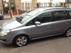 2009 Vauxhall zafira pco , 2 previous owners 140000 milage
