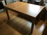 Ikea Bjursta Extendable Dining Table
