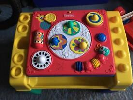 Fisher price kids activity table