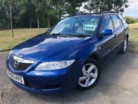 2005 05 MAZDA 6 ESTATE 2.0 5 DOOR - 3 FORMER KEEPERS - JANUARY 2019 M.O.T - CHEAP EXAMPLE!