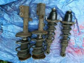 Corolla T sport suspension and springs