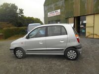 HYUNDAI AMICA 1.0 5 DOOR GREAT DRIVER VERY CLEAN MOTD PRICED TO CLEAR