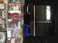 Playstation 3 (PS3) for sale with 15 games and DLC