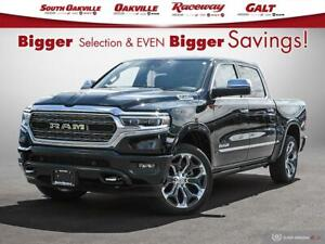 2019 Ram All-New 1500 Limited|AIR SUSPENSION|DUAL SROOF|HTD & VE